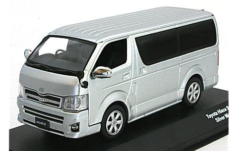 トヨタ ハイエース スーパー GL シルバーマイカM (1/43 JコレクションJC35014SL)