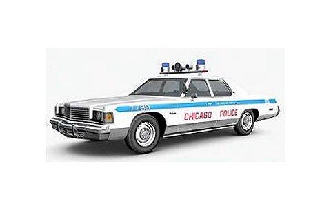 1974 ダッジ Monaco シカゴ警察 ポリスカー (1/18 アメリカンマッスルAMM987)