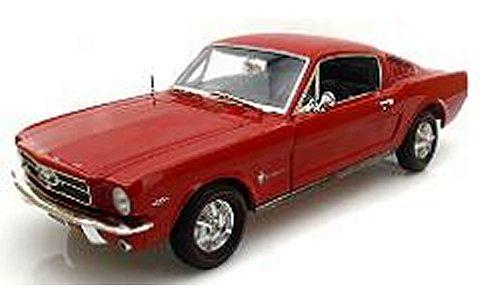 フォード マスタング 1965 レッド (1/18 アメリカンマッスルAMM1000)