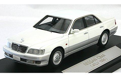 ニッサン シーマ 41LV 1996 ホワイトパールツートン (1/43 ハイストーリーHS067WS)