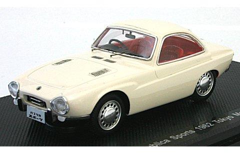 トヨタ パブリカ スポーツ 1962 東京モーターショー ホワイト (1/43 エブロ44468)