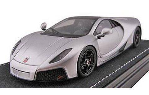 SPANIA GTA GTA Spano シルバー (1/43 フロンティアートF025-01)
