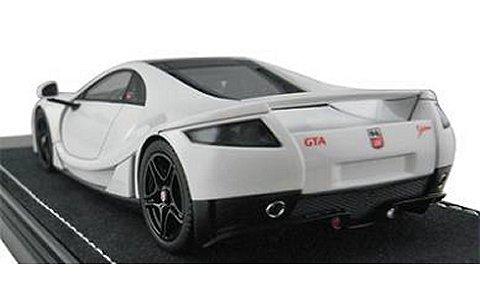 SPANIA GTA GTA Spano ホワイト (1/43 フロンティアートF025-02)