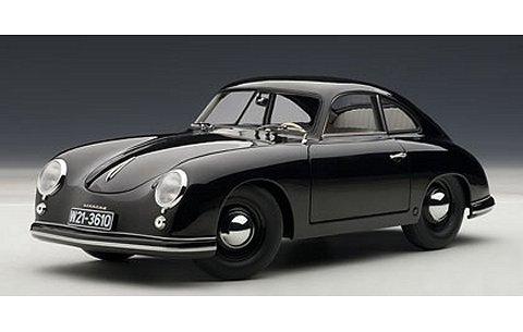ポルシェ 356 クーペ 1950 ブラック 「FERDINAND」 (1/18 オートアート77946)