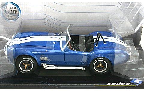 AC コブラ 1965 ブルー (1/18 ソリド421183630)