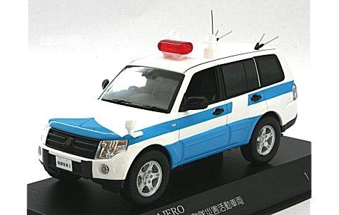 ミツビシ パジェロ 2009 警察本部警備部機動隊災害活動車両 (1/43 レイズH7430903)