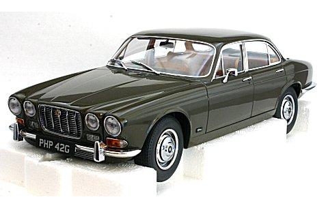 ジャガー XJ6 シリーズ1 4.2 1968 サーブルブラウン (1/18 モデルアイコンズ2011004)