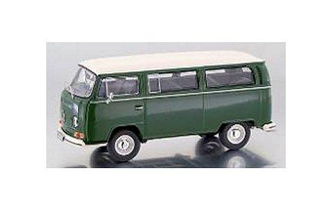 フォルクスワーゲン T2-a バス L グリーン/アイボリー (1/43 プレミアムクラシックスPCS11309)