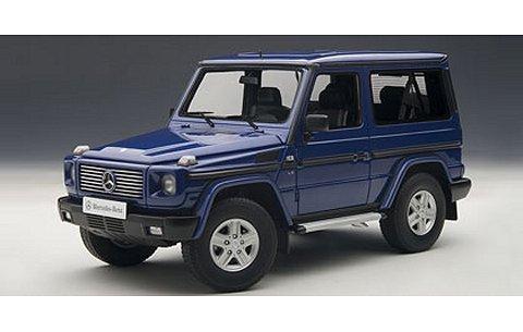 メルセデスベンツ G500 SWB ブルー (1/18 オートアート76114)