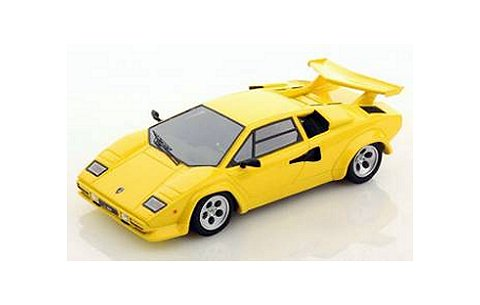 ランボルギーニ カウンタック LP500S 1982 (Giallo Maggio) イエロー (1/43 ルックスマートLS325LA)