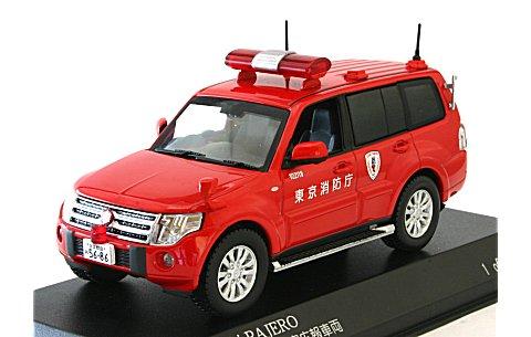 ミツビシ パジェロ 2010 東京消防庁査察広報車両 (1/43 カーネルCN431004)