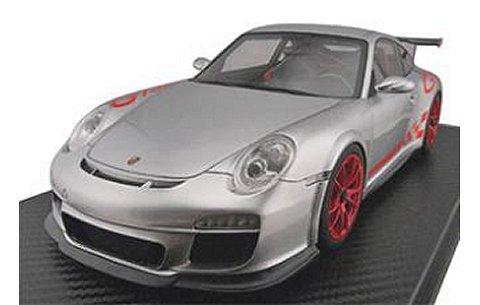 ポルシェ 911 (997) GT3RS シルバー (1/18 フロンティアートF010-01)
