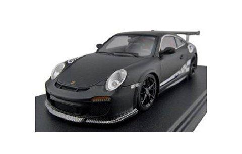 ポルシェ 911 (997) GT3RS マットブラック フル開閉 (1/43 フロンティアートFA001-05)