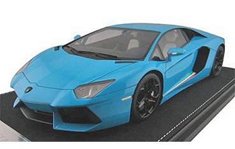 ランボルギーニ アヴェンタドール LP700-4 ブルー (1/18 フロンティアーF006-10)