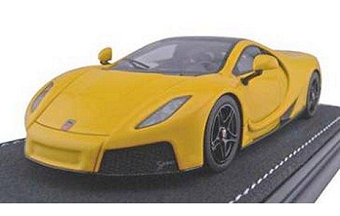 SPANIA GTA GTA Spano イエロー (1/43 フロンティアーF025-08)