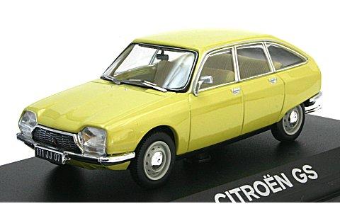 シトロエン GS 1972 イエロー (1/43 ノレブ158215)