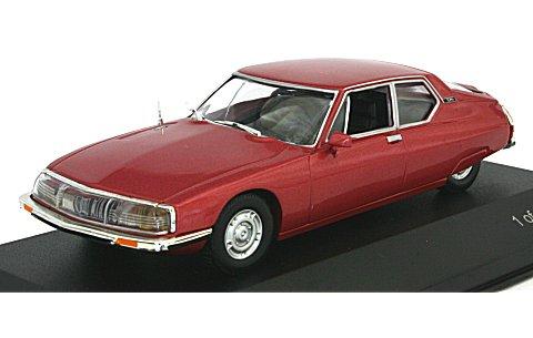 シトロエン SM 1970 Mライトレッド (1/43 ホワイトボックスWB026)