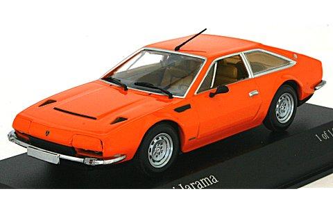 ランボルギーニ ハラマ 1974 オレンジ (1/43 ミニチャンプス400103404)