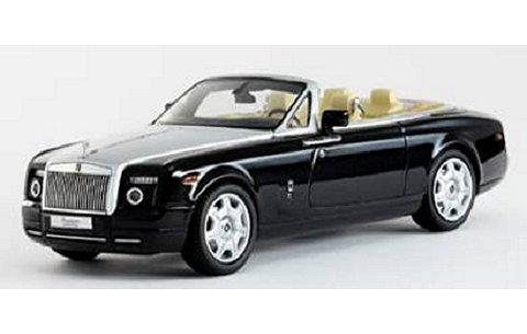 ロールスロイス ファントム Drophead Coupe ダイヤモンドブラック (1/43 京商K05532DBK)