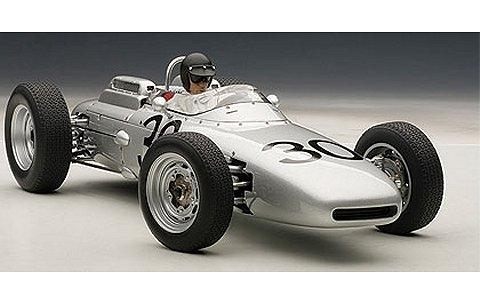 ポルシェ 804 F1 1962 No30 フランスGP優勝 ダン・ガーニー (ドライバーフィギュア付き・世界1000台限定) (1/18 オートアート86273)