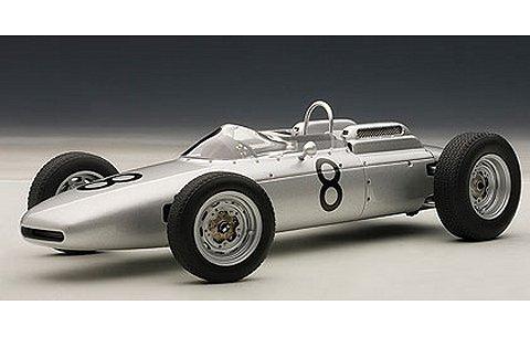 ポルシェ 804 F1 1962 No8 ドイツGP ヨアキム・ボニエ (1/18 オートアート86272)