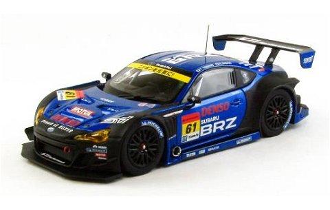 スバル BRZ R&D SPORT スーパーGT300 2013 岡山テスト No61 (1/43 エブロ44947)