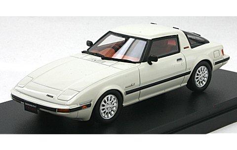マツダ サバンナ RX-7 ターボ SE-Limited 1984 ドーバーホワイト (1/43 ハイストーリーHS073WH)