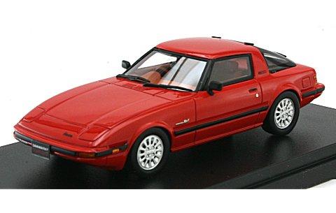 マツダ サバンナ RX-7 ターボ SE-Limited 1984 サンライズレッド (1/43 ハイストーリーHS073RE)