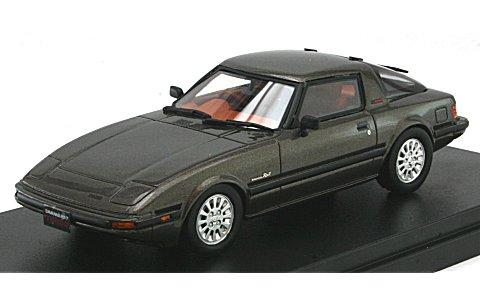 マツダ サバンナ RX-7 ターボ SE-Limited 1984 カスタムシルバーM (1/43 ハイストーリーHS073GR)