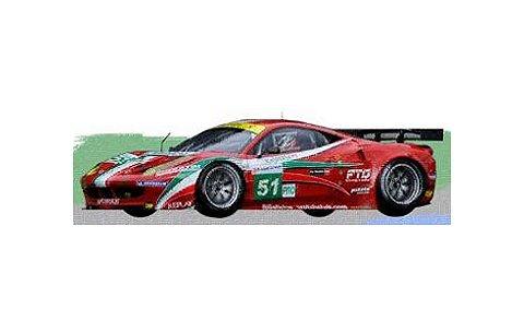 2012 フェラーリ 458 イタリア GTE Pro No51 Team AF Corse ルマン24h クラスウイナー (1/43 フジミFJM1343001)