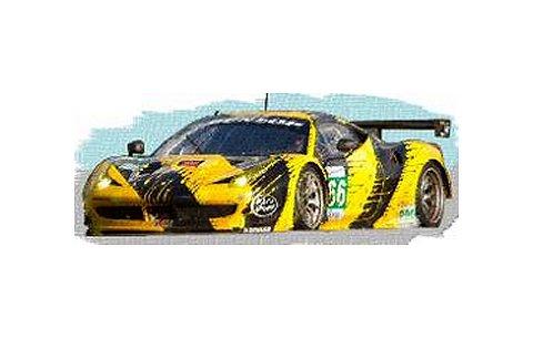 2012 フェラーリ 458 イタリア GTE Pro No66 JMW Motorsport ルマン24h (1/43 フジミFJM1343003)
