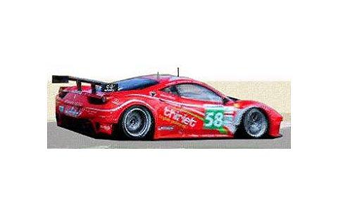2012 フェラーリ 458 イタリア GTE Am No58 Team Luxury Racing ルマン24h (1/43 フジミFJM1343006)
