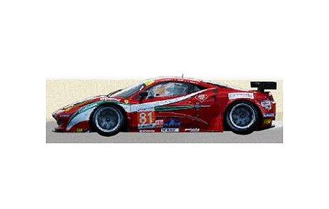 2012 フェラーリ 458 イタリア GTE Am No81 Team AF Corse ルマン24h (1/43 フジミFJM1343008)