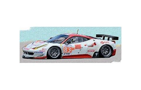2012 フェラーリ 458 イタリア GTE Pro No83 Team JMB Racing ルマン24h (1/43 フジミFJM1343009)