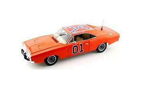 1968 ダッジ チャージャー 「General Lee」「The Dukes of Hazzard (日本名:爆発!デューク) 劇中車 (1/18 アメリカンマッスルAMM964)