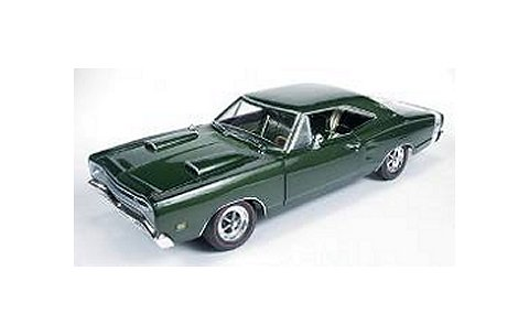 1969 ダッジ Superbee 「Car & Drivar」 グリーン (1/18 アメリカンマッスルAMM1001)