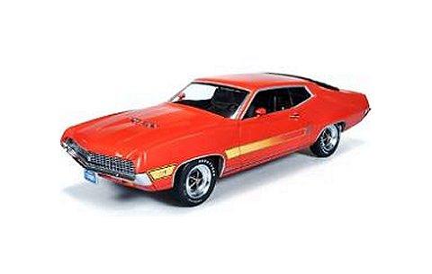 1970 フォード torino GT カリプソオレンジ (1/18 アメリカンマッスルAMM1020)