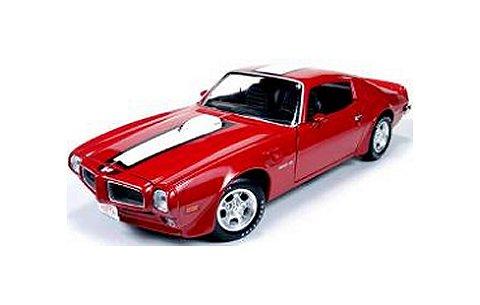 1972 ポンティアック ファイヤーバード トランザム カージナルレッド (1/18 アメリカンマッスルAMM998)