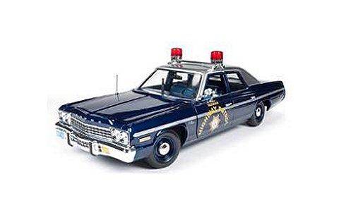 1975 ダッジ モナコ Pursuit ネバタ州警察 パトカー (1/18 アメリカンマッスルAMM1009)