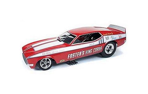 1972 フォード マスタング キングコブラ (1/18 アメリカンマッスルAW1117)