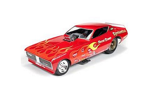 1975 Gene Snow Rambunctious Dodge Charger Funny Car (1/18 アメリカンマッスルAW1118)