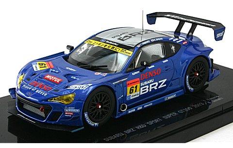 スバル BRZ R&D スポーツ スーパーGT300 2013 No61 (1/43 エブロ44940)