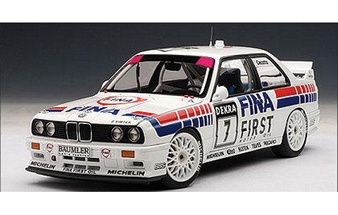 BMW M3 (E30) DTM 1992 No7 「FINA」 ジョニー・チェコット (1/18 オートアート89246)