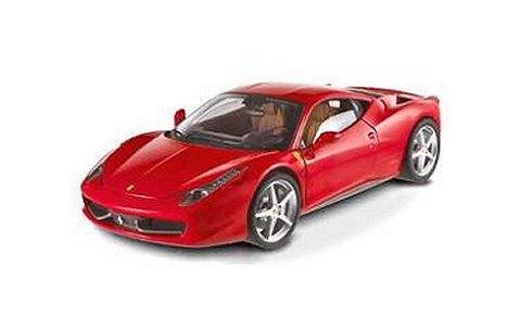 フェラーリ 458 イタリア レッド (1/24 マテルMTBCK04H)