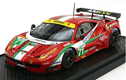 フェラーリ 458 GTE 2013 シルバーストーン 6時間 No71 クラス2位 小林可夢偉 (1/43 BBR KBBR001)