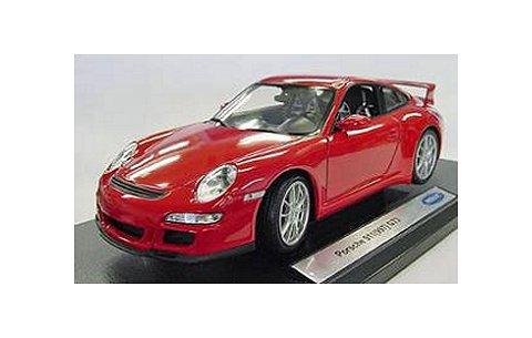 ポルシェ 911 (997) GT3 レッド (1/18 ウエリーWE18024R)