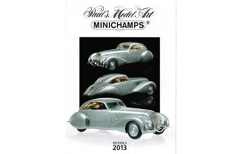 ミニチャンプス ミニカー 2013年 総合カタログ エディション2 (ミニチャンプスPMAC20132)