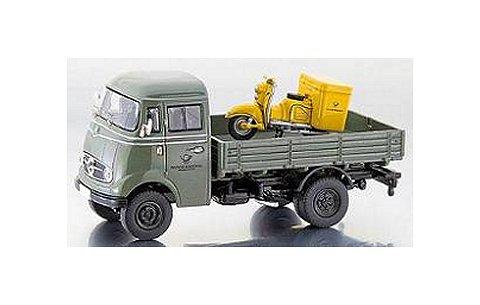 メルセデスベンツ L319 パレットトラック (Zundapp Bella DBPバイク搭載) (1/43 プレミアムクラシックスPCS11063)