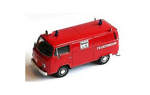 フォルクスワーゲン T2-b ボックスバン 消防隊 (1/43 プレミアムクラシックスPCS11702)