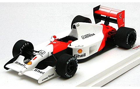 マクラーレン MP4/6 1991 ブラジルGP1位 No1 アイルトン・セナ (1/43 トゥルースケールミニチュアズ 124333)